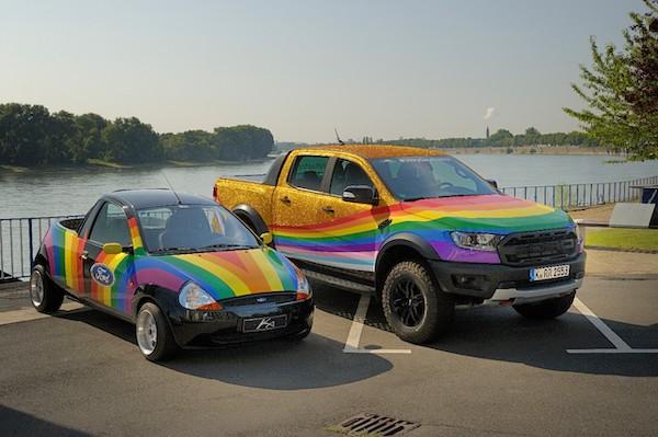 Ford, homofobik trollere yanıt olarak eşcinsel Ranger Raptor'ı tanıttı