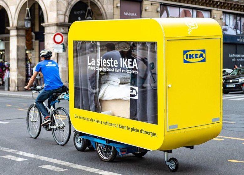 IKEA'nın gezici uyku kapsülleri