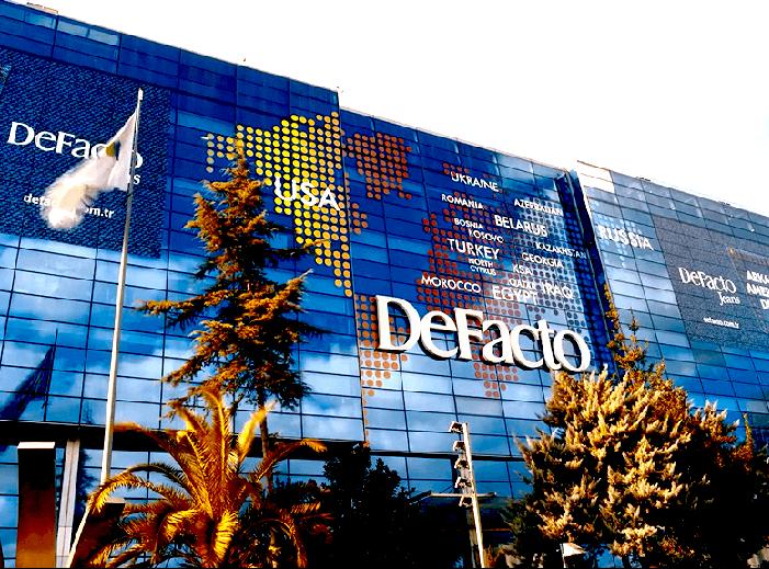 DeFacto logosunu değiştirdi