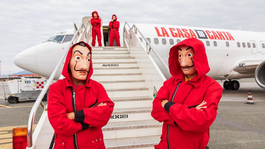 Netflix'ten, La Casa de Papel spoiler'cılarına ilginç önlem