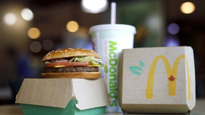 """McDonald's'ın bitki bazlı burgeri """"McPlant"""""""