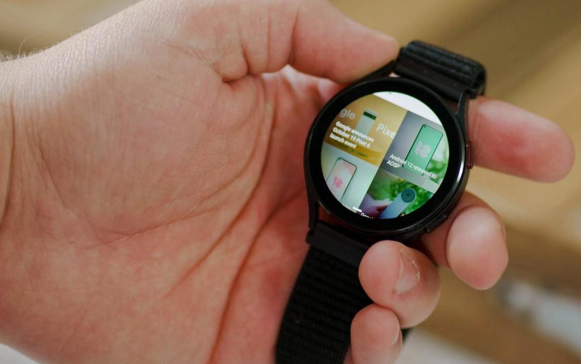 Samsung Galaxy Watch 4 ve Galaxy Watch 4 Classic'e tarayıcı özelliği ekleniyor