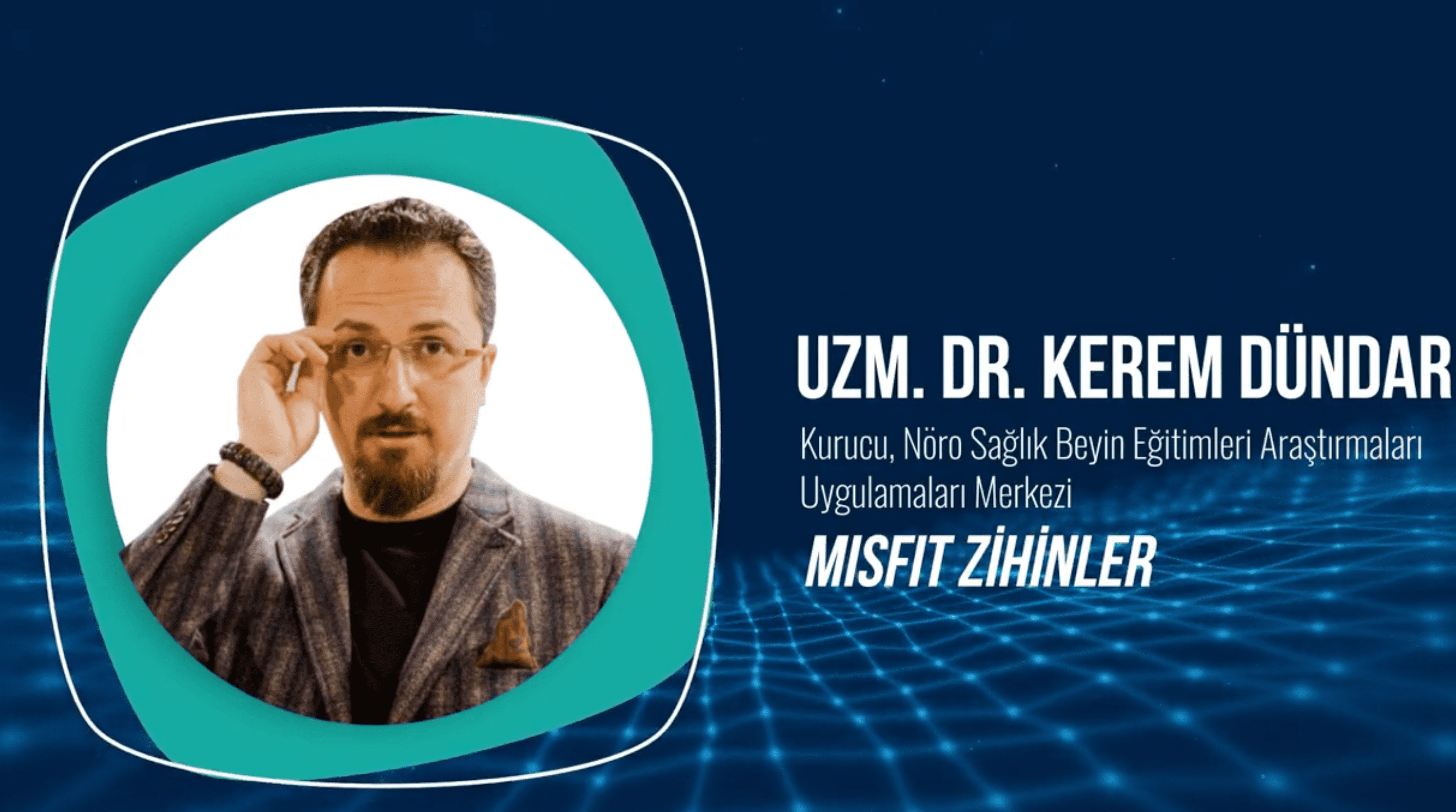 Uzm. Dr. Kerem Dündar, Marketing MeetUp sahnesinde